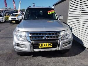 2015 Mitsubishi Pajero NX MY15 Exceed LWB (4x4) Silver 5 Speed Auto Sports Mode Wagon Taylors Beach Port Stephens Area Preview