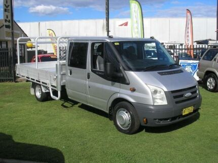 2007 Ford Transit VM Silver 6 Speed Manual Cab Chassis Minto Campbelltown Area Preview