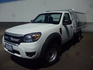 2011 Ford Ranger PK XL White 5 Speed Automatic Cab Chassis Devonport Devonport Area Preview