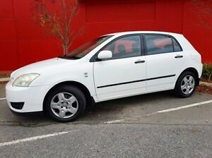 2004 Toyota Corolla ZZE122R Ascent White 4 Speed Automatic Hatchback Cannington Canning Area Preview