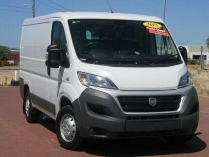 2014 Fiat Ducato Series 4 Low Roof SWB White 6 Speed Manual Van Spearwood Cockburn Area Preview