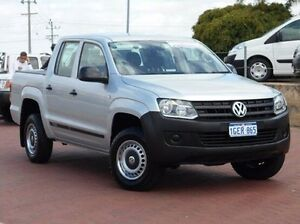 2013 Volkswagen Amarok 2H MY13 TSI300 Silver 6 Speed Manual Utility Spearwood Cockburn Area Preview