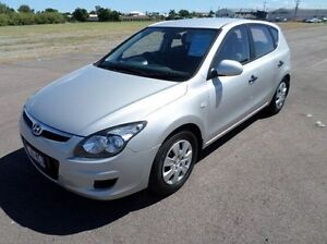 2011 Hyundai i30 FD MY11 SX Silver 5 Speed Manual Hatchback Hyde Park Townsville City Preview