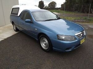 2007 Ford Falcon BF Mk II XL Ute Super Cab Blue 4 Speed Sports Automatic Utility Yarrawonga Moira Area Preview