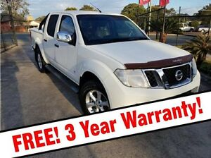 2011 Nissan Navara D40 S6 MY12 ST-X 550 White 7 Speed Sports Automatic Utility Acacia Ridge Brisbane South West Preview
