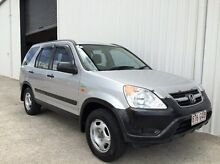 2002 Honda CR-V RD MY2002 4WD Silver 4 Speed Automatic Wagon Parkwood Gold Coast City Preview
