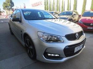 2016 Holden Commodore VF II MY16 SV6 Black Silver 6 Speed Sports Automatic Sedan Coolaroo Hume Area Preview