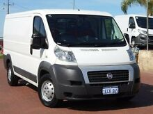 2012 Fiat Ducato Series II MY12 Low Roof MWB MTA White 6 Speed Sports Automatic Single Clutch Van Spearwood Cockburn Area Preview
