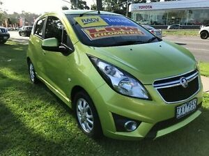 2013 Holden Barina Spark MJ MY13 CD Green 5 Speed Manual Hatchback Ferntree Gully Knox Area Preview