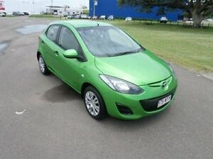 2010 Mazda 2 DE10Y1 MY10 Neo Green 5 Speed Manual Hatchback Hyde Park Townsville City Preview