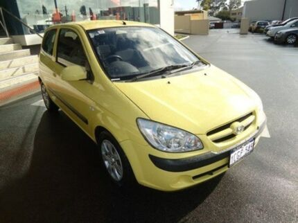 2006 Hyundai Getz TB MY06 Sheer Yellow 5 Speed Manual Hatchback Mandurah Mandurah Area Preview