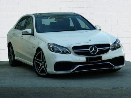 2015 Mercedes-Benz E63 212 MY15 AMG S Diamond White 7 Speed Automatic Sedan Moorooka Brisbane South West Preview