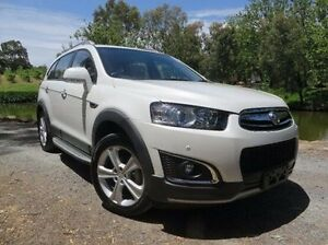2014 Holden Captiva CG MY15 7 AWD LTZ White 6 Speed Sports Automatic Wagon Christies Beach Morphett Vale Area Preview