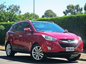 2010 Hyundai ix35 LM Highlander AWD Red 6 Speed Sports Automatic Wagon Thorngate Prospect Area Preview