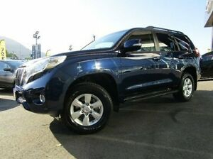 2014 Toyota Landcruiser Prado KDJ150R MY14 GXL Blue 5 Speed Sports Automatic Wagon Earlville Cairns City Preview