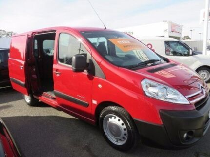 2008 Citroen Dispatch G9C Low Roof SWB Passion Red 6 Speed Manual Van Gardenvale Glen Eira Area Preview