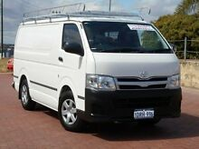 2011 Toyota Hiace KDH201R MY11 LWB White 5 Speed Manual Van Spearwood Cockburn Area Preview