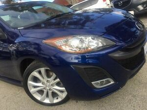 2010 Mazda 3 BL10L1 MY10 SP25 Activematic Blue 5 Speed Sports Automatic Sedan Melville Melville Area Preview