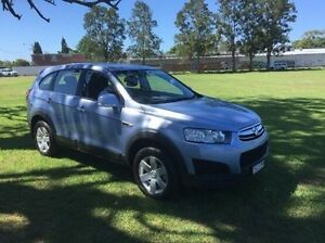 2014 Holden Captiva CG MY15 7 LS Blue 6 Speed Sports Automatic Wagon East Kempsey Kempsey Area Preview