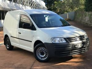 2008 Volkswagen Caddy 2KN SWB DSG White 6 Speed Sports Automatic Dual Clutch Van Baulkham Hills The Hills District Preview