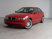 2004 BMW 318I E46 MY2004 Steptronic Red 5 Speed Sports Automatic Sedan Mount Gambier Grant Area Preview