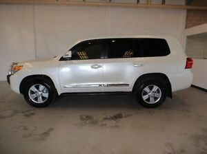 2014 Toyota Landcruiser VDJ200R MY13 Sahara White 6 Speed Sports Automatic Wagon Silver Sands Mandurah Area Preview