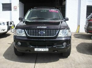 2004 Ford Explorer UZ XLT Black 5 Speed Automatic Wagon Woodbine Campbelltown Area Preview