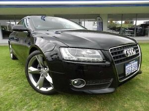 2011 Audi A5 Black Constant Variable Hatchback Victoria Park Victoria Park Area Preview