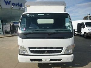 2010 Mitsubishi Canter White Cab Chassis 4x2 Coburg North Moreland Area Preview