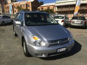 2009 Kia Grand Carnival VQ (EX) Silver 5 Speed Automatic Wagon South Fremantle Fremantle Area Preview