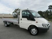 2006 Ford Transit VJ LWB White 6 Speed Manual Cab Chassis Doveton Casey Area Preview