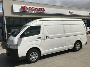 2006 Toyota Hiace TRH221R High Roof Super LWB White 4 Speed Automatic Van Mornington Mornington Peninsula Preview