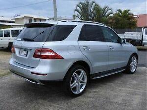 2013 Mercedes-Benz ML250 W166 BlueTEC 7G-Tronic + Silver 7 Speed Sports Automatic Wagon Wynnum Brisbane South East Preview