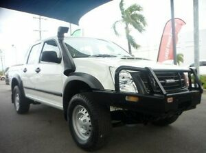 2011 Isuzu D-MAX MY11 SX White 5 Speed Manual Utility Townsville Townsville City Preview