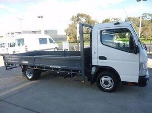 2012 Mitsubishi Fuso Canter White Cab Chassis 4x2 Coburg North Moreland Area Preview