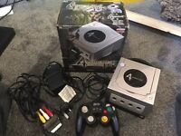 Original Limited Edition Resident Evil 4 Nintendo Gamecube Boxed Console