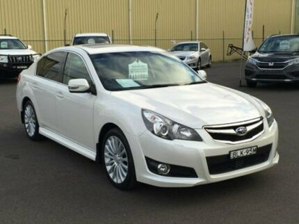 2009 Subaru Liberty B5 MY10 2.5i Sports Lineartronic AWD Premium Satin White Pearl 6 Speed Constant  Dubbo 2830 Dubbo Area Preview