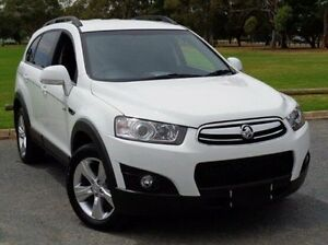 2011 Holden Captiva CG Series II 7 AWD CX White 6 Speed Sports Automatic Wagon Elizabeth Playford Area Preview