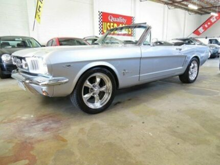 1965 Ford Mustang  Silver Manual Convertible Fyshwick South Canberra Preview