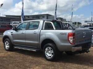 2017 Ford Ranger PX MkII XLT Double Cab Silver 6 Speed Sports Automatic Utility Berrimah Darwin City Preview