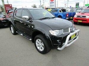 2012 Mitsubishi Triton Black Sports Automatic Utility Cardiff Lake Macquarie Area Preview