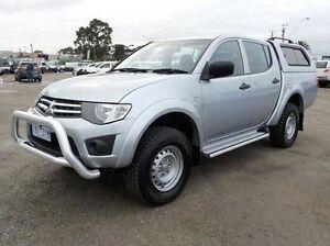 2014 Mitsubishi Triton Silver Sports Automatic Utility Pakenham Cardinia Area Preview