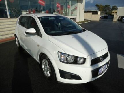 2011 Holden Barina TM Olympic White 5 Speed Manual Hatchback Mandurah Mandurah Area Preview