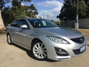 2011 Mazda 6 GH1052 MY12 Touring Silver 5 Speed Sports Automatic Hatchback Melville Melville Area Preview