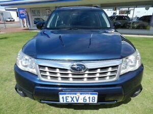 2012 Subaru Forester S3 MY12 XS AWD Premium Blue 4 Speed Sports Automatic Wagon Victoria Park Victoria Park Area Preview