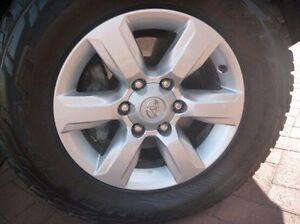 2014 Toyota Landcruiser Prado KDJ150R MY14 GXL White 5 Speed Sports Automatic Wagon Myaree Melville Area Preview