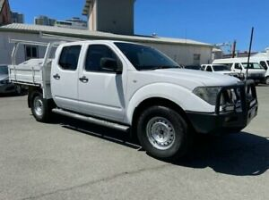 2012 Nissan Navara D40 MY12 RX (4x4) White 5 Speed Automatic Dual Cab Chassis Southport Gold Coast City Preview