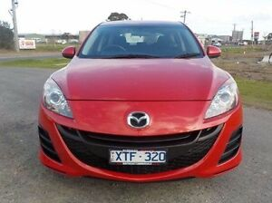 2010 Mazda 3 Red Sports Automatic Hatchback Pakenham Cardinia Area Preview