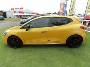2014 Renault Clio X98 Series IV Yellow 6 Speed Sports Automatic Dual Clutch Hatchback Mandurah Mandurah Area Preview