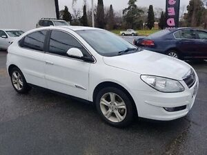 2013 Chery J3 M1X MY13 White 7 Speed Constant Variable Hatchback Wodonga Wodonga Area Preview